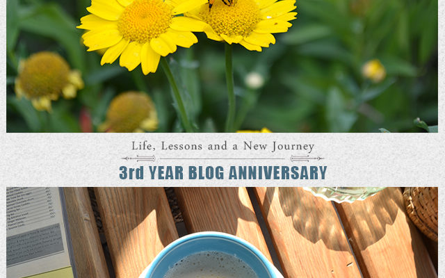 3 Year Blog Anniversary