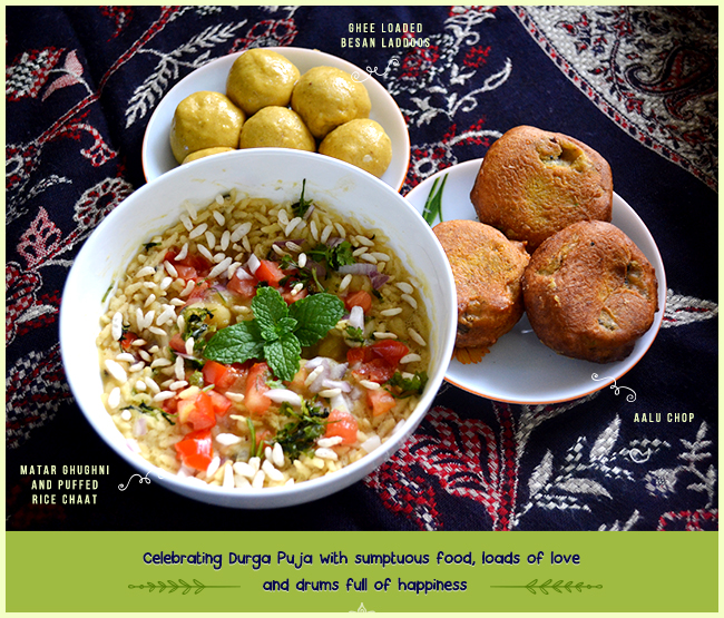 Durga Puja, Durga Puja Special, Aalu Chop, Chop, Matar Chaat, Ghugni Chaat, Besan ke Laddoo, Laddoo, Fesyivals of India, Indian Festivals, Love for Festival and Food, Photography, Mom's Food, Mother's Love, Mother's Cooking, Delicacies of Jharkhand, Jharkhand State, Food of Jharkhand, Lost Recipes, Savoring Delicacies, A Super Food, Street food, Indian Food, Foodie, Forgotten Love, Love for food, Morning Rituals, Life, Happiness, Art, Thoughts, Doodles, Love, Inspiration, Quotes, Happiness, Recipes, Sowing Happiness, Spreading Love, Positive Thoughts, Gulmohar Doodles, Puneeta Prakash Blog, Puneeta Prakash, Personal Blog, Blogger
