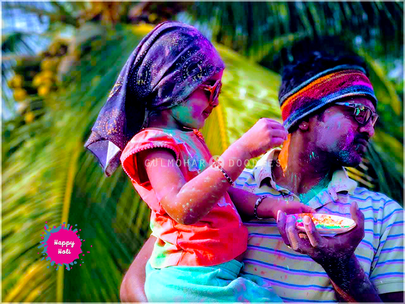 Holi, Holi2019, Holi hai, bura na maano holi hai, celebrations, happiness, daughter, dad, love, bonding, Jharkhand ka khaana, khana, jharkhandi khana, bihari khana, naasta, snacks, fried snacks, fried savouries, Holi, Desserts, Mithai, Dahi vada, malpua, dahi-wada, ghugni, chaat, mutter ka chaat, makhana, makhane ki kheer, kheer, phool makhana, fox nuts kheer,Traditional food, Jharkhand traditional food, Bihar traditional food, happiness, sweet, Jharkhand, Bihar, homemade, ghar ka khana, Gulmohar Doodles, Puneeta Prakash blog