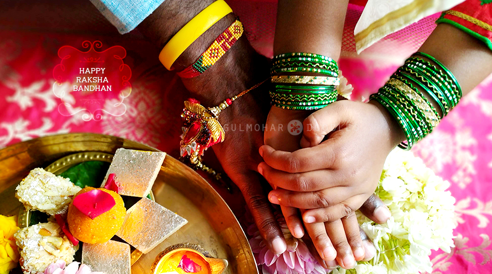 Raksha Bandhan, Raksha Bandhan 2020, Rakhi 2020, Rakhi, celebrations, happiness, daughter, dad, love, bonding, Jharkhand ka khaana, khana, jharkhandi khana, bihari khana, naasta, snacks, fried snacks, fried savouries, Desserts, Mithai, naariyal ki barfi, nariyal laddoo, nariyal laddu, sattu ki kachori, sattu, aalu baingan ki sabzi, sabji, tamatar khajur ki chutney, parval bhujia, rakhi ka tyohaar, behan bhai ka tyohaar, hindu festival, Bihar special, Jharkhand special, Traditional food, Jharkhand traditional food, Bihar traditional food, happiness, sweet, Jharkhand, Bihar, homemade, ghar ka khana, Gulmohar Doodles, Puneeta Prakash blog